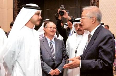 Sheikh Abdullah with Jang Fu