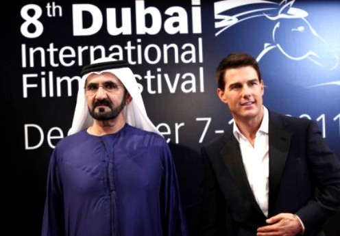 Tom Cruise at DIFF 2011