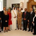 Lord Ahmed & European Parliamentarians meet Crown Prince Qatar