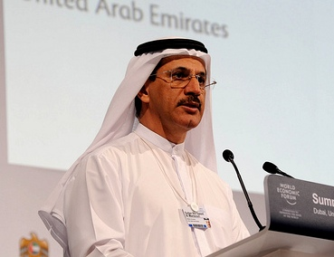 Al Mansoori at World Economic Forum 2012