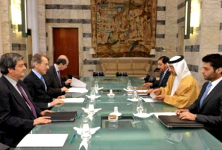 Foreign Minister receives Italy & Vatican Counterparts