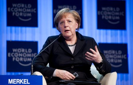 Merkel at World Economic Forum 2012