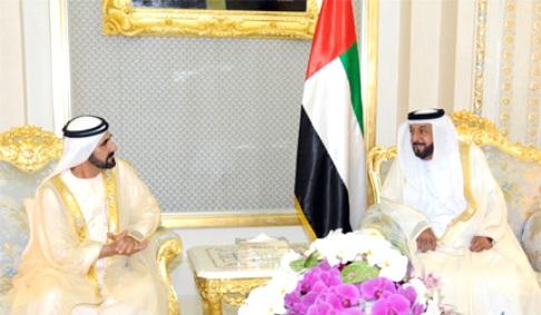 President Khalifa and Sheikh Mohammed