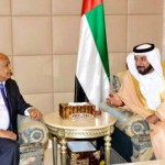 Shaikh Khalifa talks to Yemen's PM
