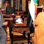 Sheikh Mohammed receives Yemeni PM