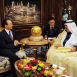 Wen Jiabao with Saudi Arabian King