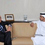 Sheikh Abdullah receives IMF official