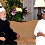 Sheikh Abdullah receives Grand Mufti of Egypt