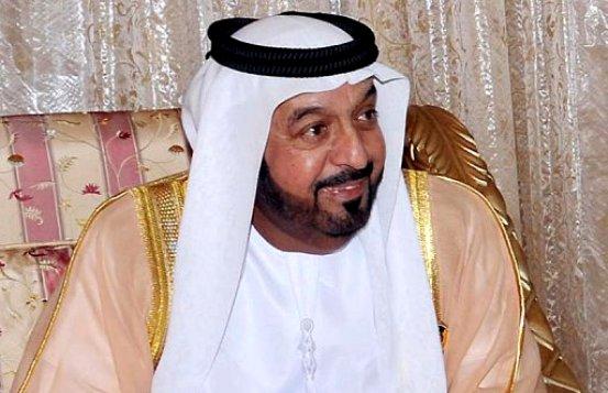 President Khalifa telephoned by Russian President