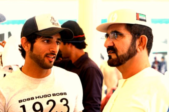 Sheikh Mohammed attends President's Cup endurance race