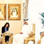 Sheikh Mohammed holds talks with South Korean President