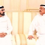Sheikh Mohammed receives Qatari envoy