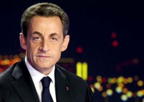 French President Sarkozy announces re-election bid