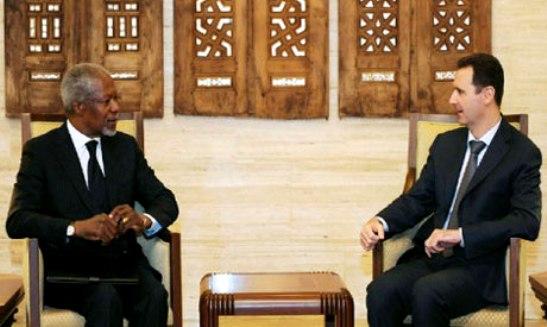 Assad agrees to Annan's Syria Peace Plan