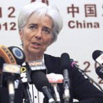 Global economy on recovery path Lagarde