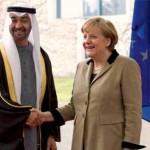 Sheikh Mohammed bin Zayed meets German Chancellor