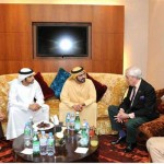 Sheikh Mohammed receives Trucial Oman Scouts