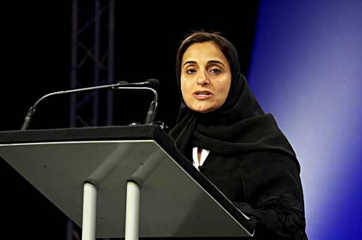 Sheikha Lubna hails World Women Day