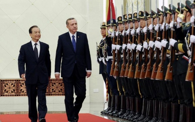 Erdogan makes Historic Visit to China