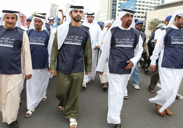 World Peace March in Dubai attracts large crowd