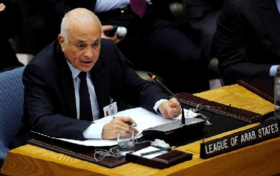Arab League chief in China for Syria talks