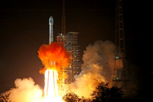 China launches two navigation satellites
