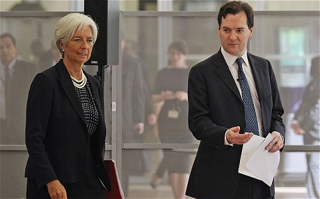 IMF warns Britain to support growth