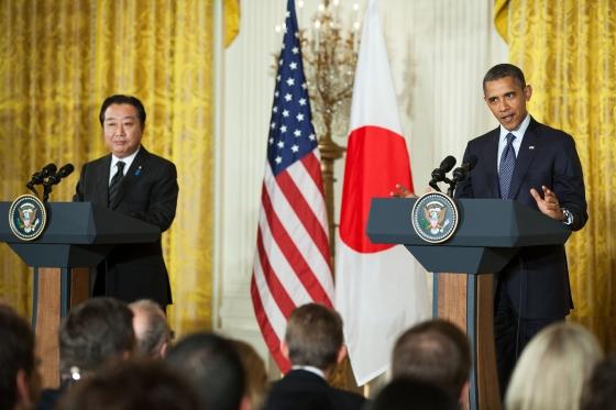 Obama meets Japanese Prime Minister