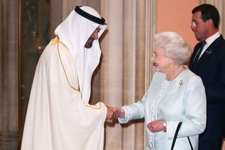 Sheikh Mohammed attends Queen Elizabeth's Diamond Jubilee Celebrations