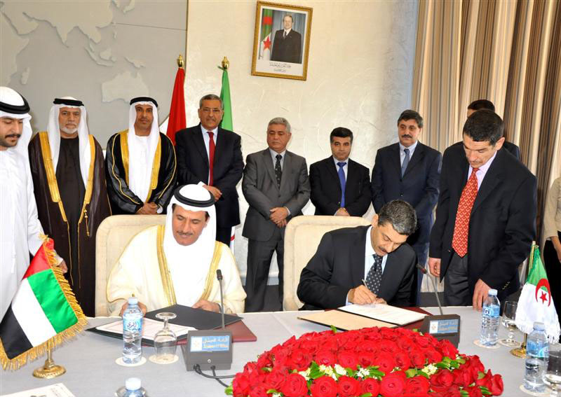 UAE and Algeria discuss trade ties