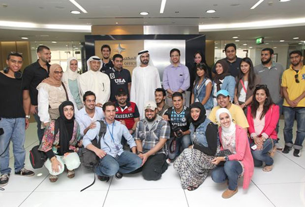 Dubai open to Young Media Persons: Sheikh Mohammed