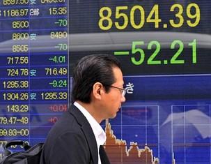 Global growth concerns hit world markets