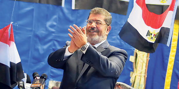 Mursi elected as Egypt's President