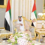 President Khalifa holds talks with Lebanese President