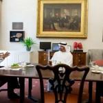 Sheikh Zayed discuss Relations with President Obama