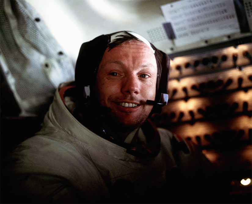First man on moon, Neil Armstrong dead