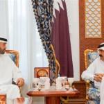 General Sheikh Mohammed meets Emir of Qatar