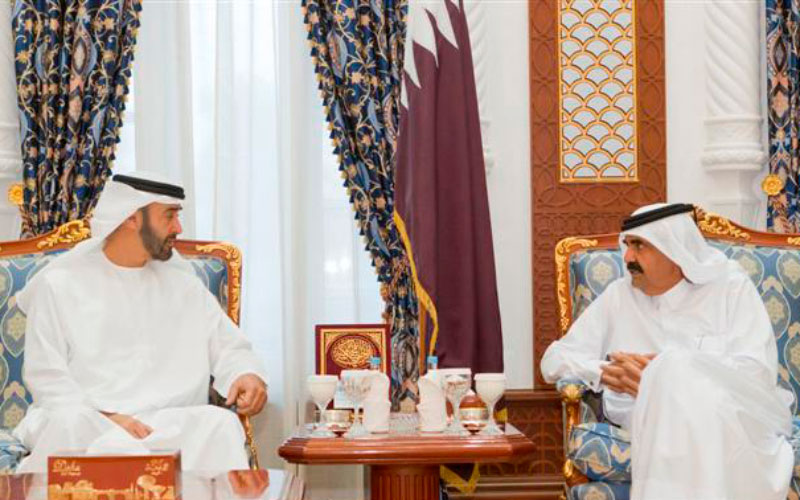 General Sheikh Mohammed meets Emir of Qatar