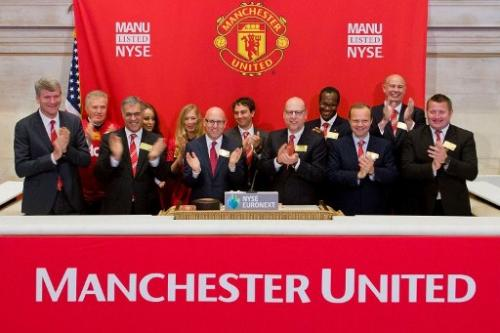 Manchester United shares debut in New York
