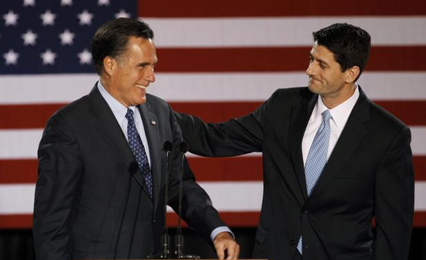 Romney names Paul Ryan as Running Mate