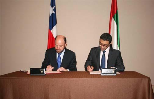 UAE, Chile sign Reciprocal Visa Waiver MOU