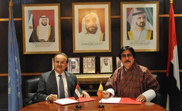 UAE Establish Diplomatic Ties with The Kingdom of Bhutan