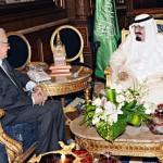Brahimi Meets Saudi King
