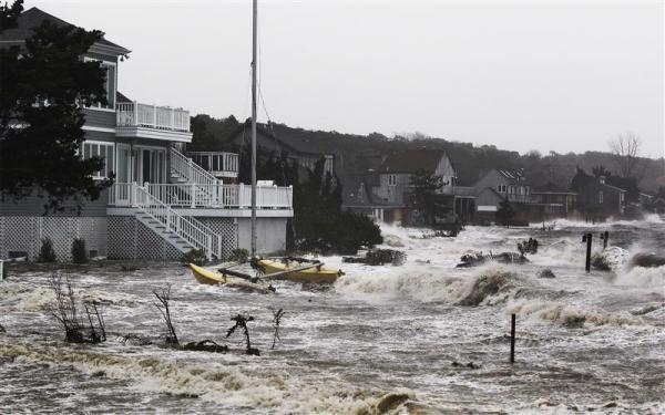 Deadly Storm Scrambles US East Coast