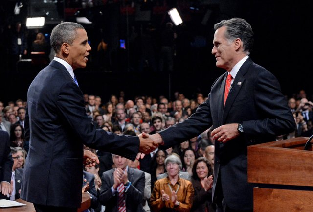 Obama, Romney Clash in Debate Rematch
