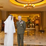 Sheikh Mohammed bin Zayed Receives Commander of US Central Command