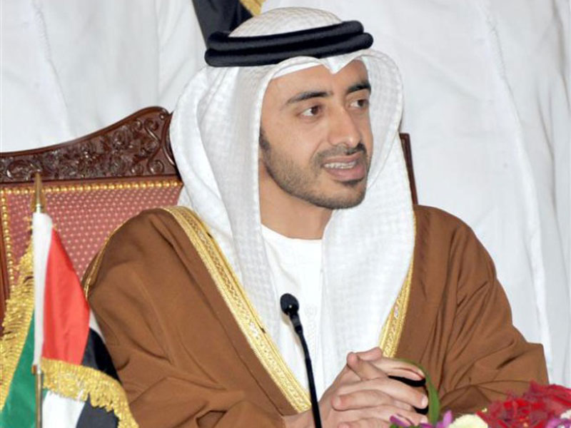UAE a Great Player in International Relations: Sheikh Abdullah