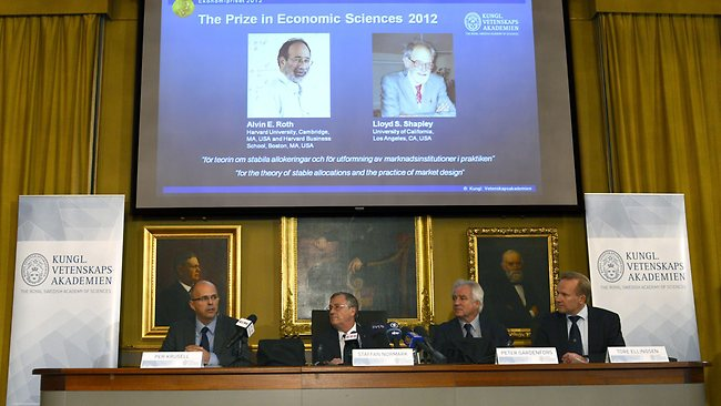 US duo wins Nobel Economics Prize