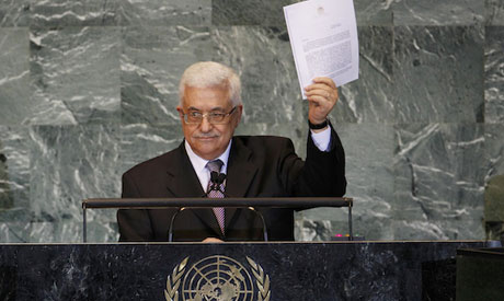 Palestinians to Renew UN Statehood bid
