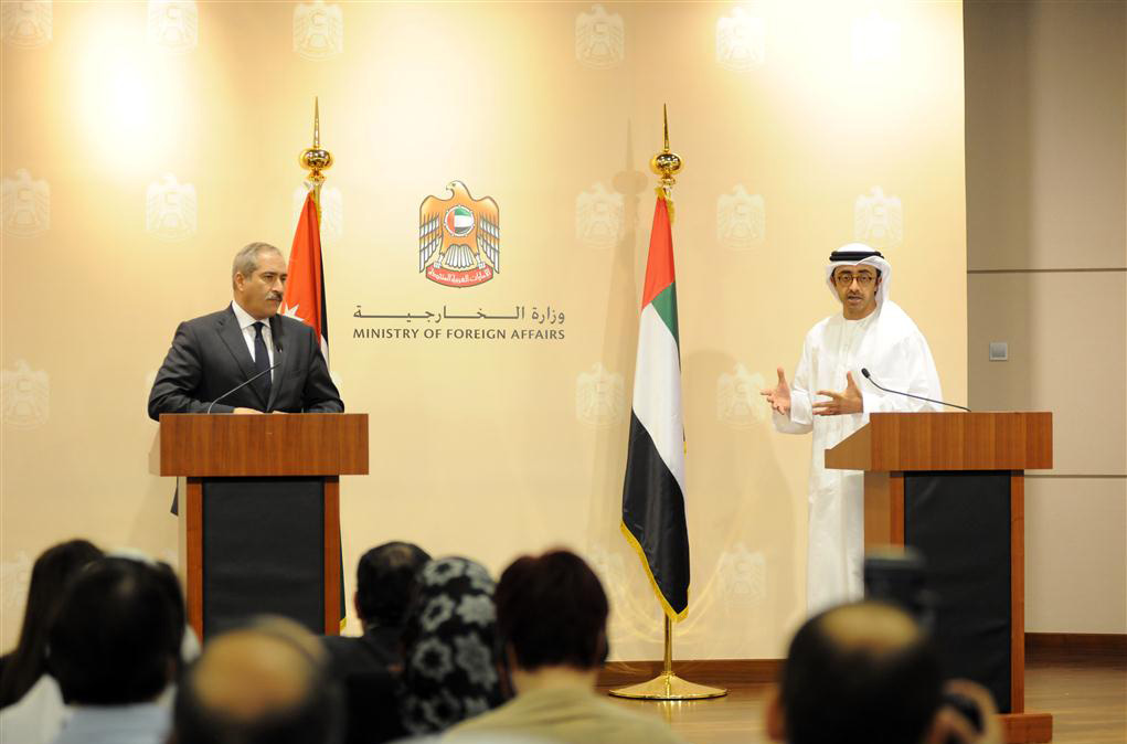 Sheikh Abdullah Urges Int'l Community to Reach Out to Palestinian people